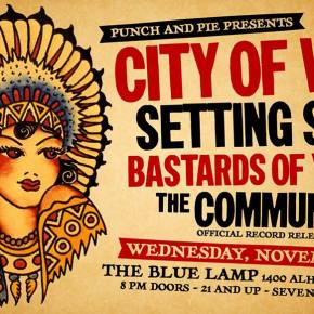 The Community releases Non-Prophet tonight at the Blue Lamp.