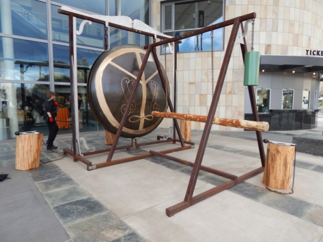 'Gong' made by William T. Wiley in the 1980's.