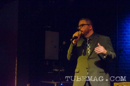 Johnny Taylor, our hilarious Emcee for the evening. Photo by Mickey Martin Photography