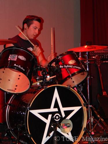 Bass Steveo of The Hybrid Creeps Photo by Ryan Stewart