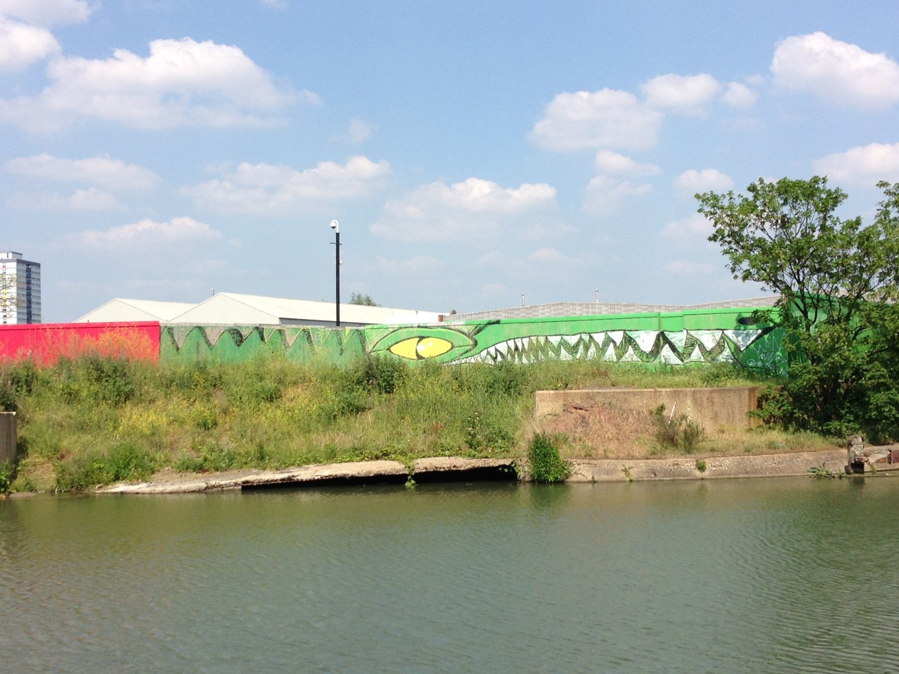 Graffiti Art on a stroll down the canal by Hackney Wick.