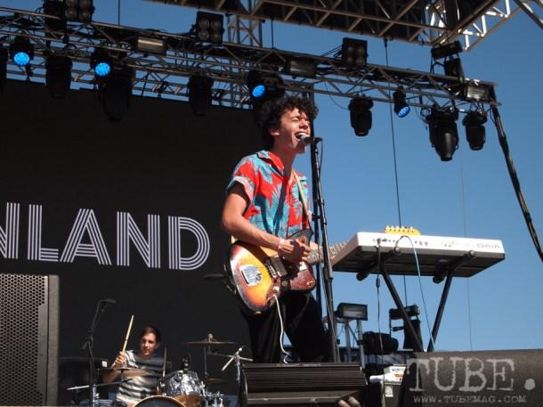 Sacramento TBD Fest 2014. Mainland brightening the stage. Photo Sarah Elliott