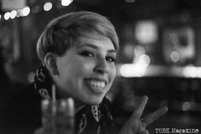 Paige Metcalf at The Lower 48/Honyock show. Torch Club. Sacramento CA. Photo Melissa Uroff