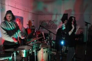 The Tender Senders.Sol Collective. Sacramento CA. 2015 Photo Giovanni Martinez.