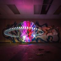 Untitled Light Painting Photo by Andy. C.