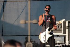 Kaleo Wassman of Pepper on stage at Thunder Valley, Sacramento CA. 2015 Photo Danielle.