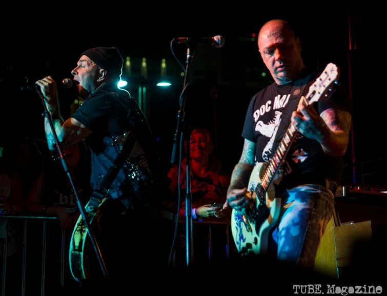 Rancid performing at the 17th Annual Punk Rock Bowling Festival in Las Vegas Nevada, May 2015. Photo Melissa Uroff