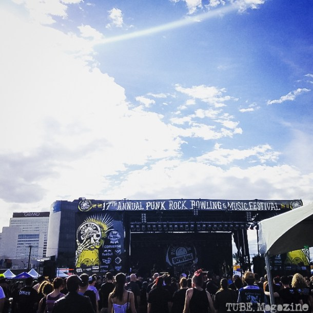The first day of the 17th Annual Punk Rock Bowling Festival in Las Vegas Nevada, May 2015.  Photo Melissa Uroff