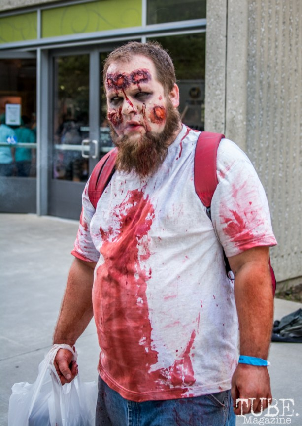 Zombified at Sacramento Wizard World Comic Con 2015. Photo Sarah Elliott