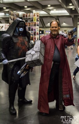 Ronan & Peter Quill aka Star Lord cosplay. Sacramento Wizard World Comic Con 2015. Photo Sarah Elliott