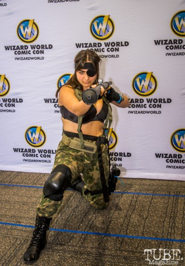 Cosplayer at Sacramento Wizard World Comic Con 2015. Photo Sarah Elliott