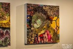 "Artwork by Emily Swinsick, for ""Some Kind of Accident"" at Beatnik Studios Sacramento CA, Photo Sarah Elliott July 2015"