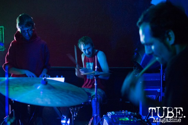 Separate Spines playing at Cafe Colonial in Sacramento, CA. August 2015. Photo Alejandro Montaño