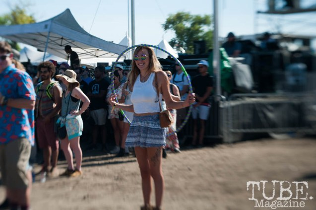 Hula Hooper at TBD Fest, Sacramento CA. September 2015. Photo Heather Uroff.