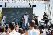 Mothxr playing on the Lowbrau stage at TBD Festival in Sacramento, Ca. September 2015. Photo Alejandro Montaño