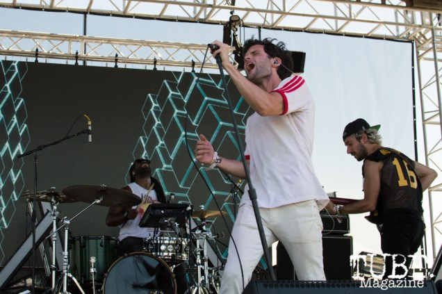 Mothxr playing on the Lowbrau stage at TBD Festival in Sacramento, Ca. September 2015. Photo Alejandro Montaño