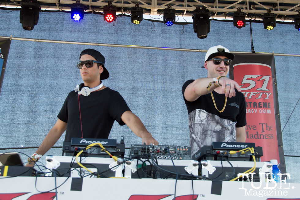 Yah Yahz playing on the 51 Fifty + Hit City Stage at TBD Festival in Sacramento, Ca. September 2015. Photo Alejandro Montaño
