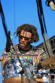 Mark Kerr, drummer of Joakim at TBD, Sacramento CA.September 19,2015. Photo Anouk Nexus