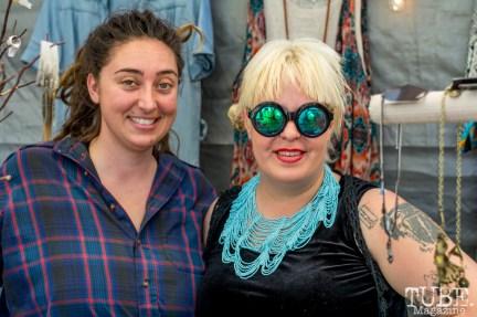 The ladies of the Freestyle Boutique at TBD Fest, Sacramento CA. 2015 Photo Sarah Elliott