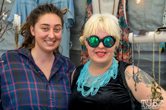 The ladies of the Freestyle Boutique at TBD Fest, Sacramento CA. 2015 Photo Sarah Elliott