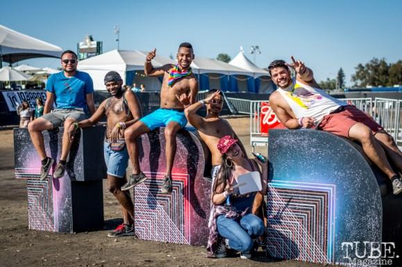Festival attendees at TBD Fest, Sacramento CA. 2015 Photo Sarah Elliott