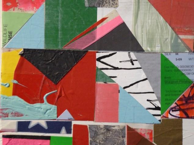Paper or Plastic 2 (Detail), Nathan Cordero.