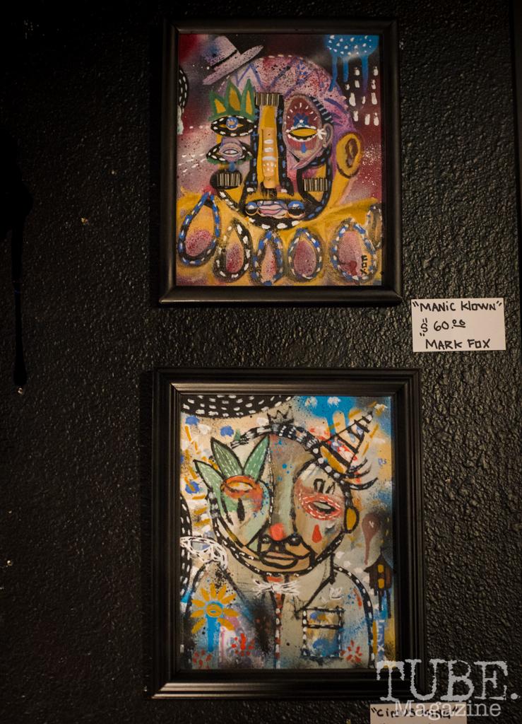 Artwork by Mark Fox. TUBE. Circus, 2016. Photo Melissa Uroff.