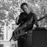 John Stirrat Bassist of Hail the Sun, Concerts in the Park, Cesar Chavez Park, Sacramento, CA. June 3, 2016, Photo Anouk Nexus