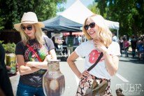 Melinda Arendt (left) and Melissa Arendt at the Crocker Block by Block Party in District 5, July 9, Sacramento CA. Photo Melissa Uroff