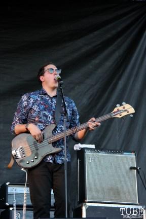 -Bassist/Backup Vocals Max Ramey of Monophonics, Davis Community Park, Davis, CA. July 4, 2016. Photo Anouk Nexus