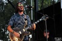 Guitarist/Backup Vocals Ian McDonald of Monophonics, Davis Community Park, Davis, CA. July 4, 2016. Photo Anouk Nexus
