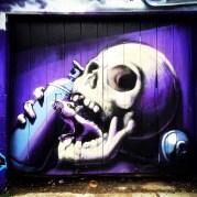 Skull and Rat, Artist Unknown, Improv Alley, Sacramento, CA