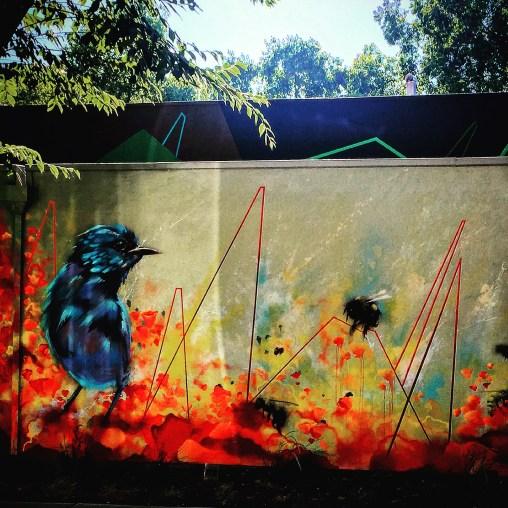 Irubiel Moreno mural outside of Jack's Urban Eats, 1230 20th Street, Sacramento, CA