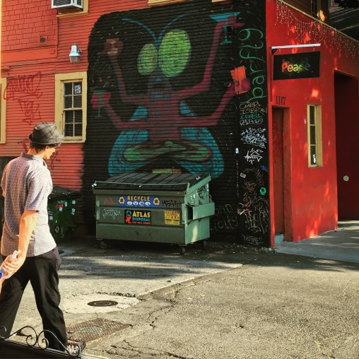 Midtown Barfly, artist unknown, 1119 21st Street, Sacramento, CA