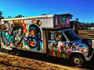 Delivery Truck, Bamr collaboration, 3503 Broadway, Sacramento, CA