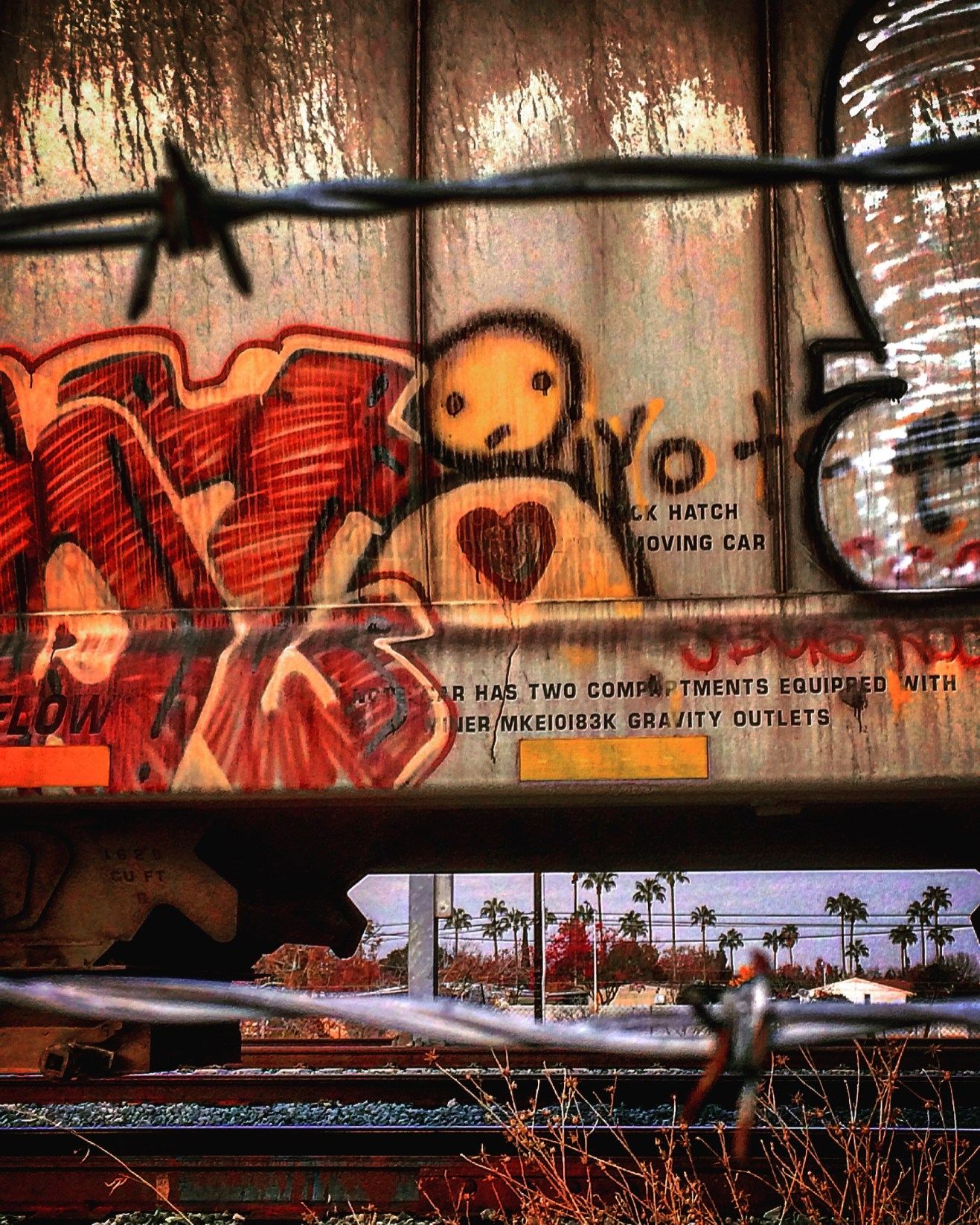 Box Car, Unknown artist, Granite Regional Park, Sacramento, CA