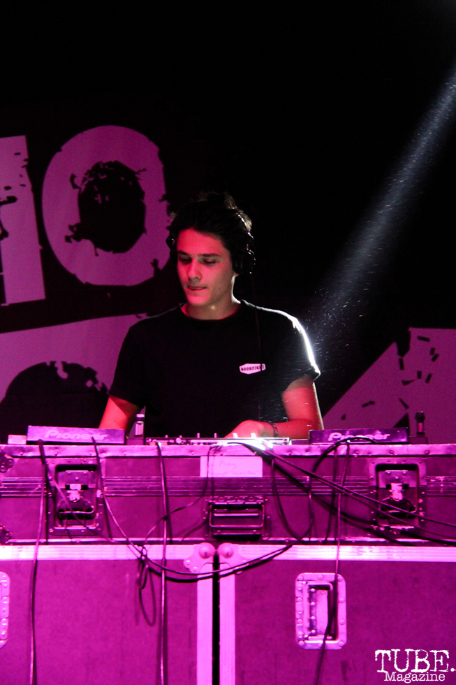 DJ Kung, City of Trees, Bonney Field, Sacramento, CA. September 10, 2016. Photo Anouk Nexus