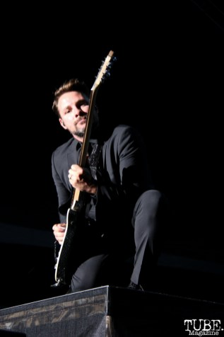 Guitarist Kenneth Harris of Panic! At The Disco, City of Trees, Bonney Field, Sacramento, CA. September 10, 2016. Photo Anouk Nexus