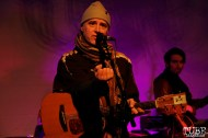 Gabriel Nelson vocalist/guitarist and bassist of Bellygunner, Red Museum, Sacramento, CA. December 07, 2016. Photo Anouk Nexus