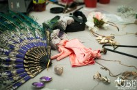 Behind the scenes of the fashion show at Vintage Swank ArtMix, Crocker Art Museum, March 2017. Photo Heather Uroff