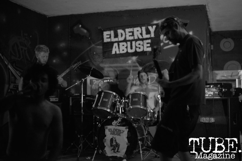 Elderly Abuse at Colonial Fest in Sacramento, CA, March 26, 2017. Photo by Emma Montalbano.