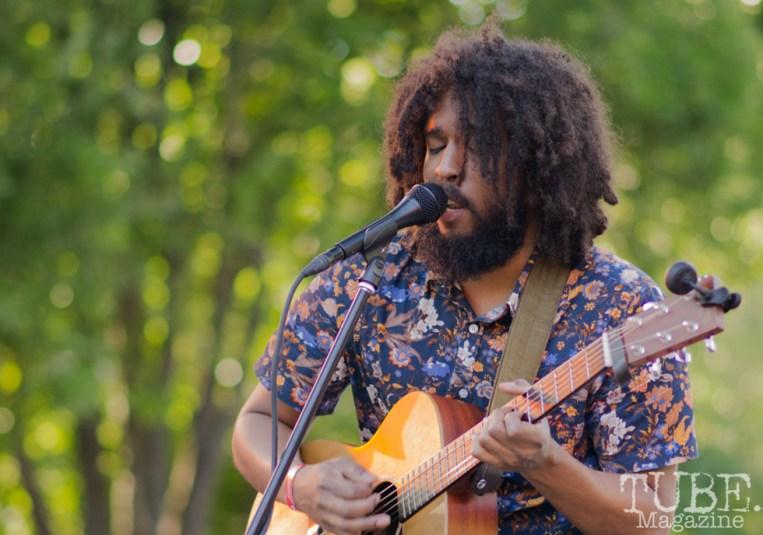 Josh Lane. Concert in the Park, Sacramento CA 2017 Photo Dan Tyree