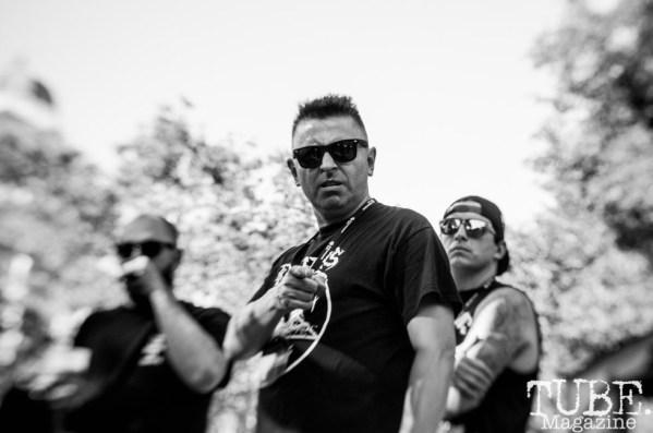 Danny Secretion. Concert in the Park. Sacramento, Ca. June 2017. Photo Heather Uroff.