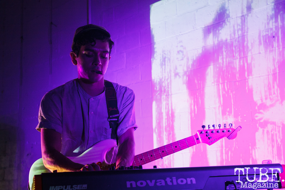 So Much Light (Damien Verrett) performing at The Red Museum for Red Ex Volume 1 in Sacramento, CA (8-26-2017). Photo Cam Evans