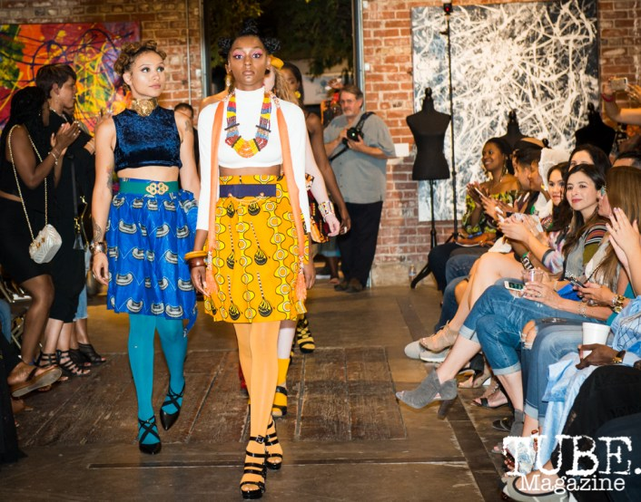 Willow Tree Roots Fashion & Art Show at The Brick House Gallery & Art Complex, in Sacramento, CA. September 2017. Photo by Melissa Uroff.