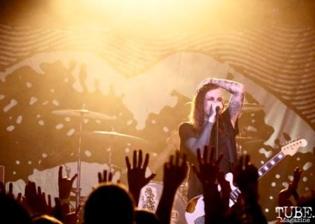 Laura Jane Grace, Against Me! September 11, 2017, Sacramento CA. Photo Joey Miller
