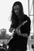 Guitarist Patrick Hennion of Our People, City of Trees, Papa Murphy's Park, Sacramento, CA. September 24th, 2017. Photo Anouk Nexus