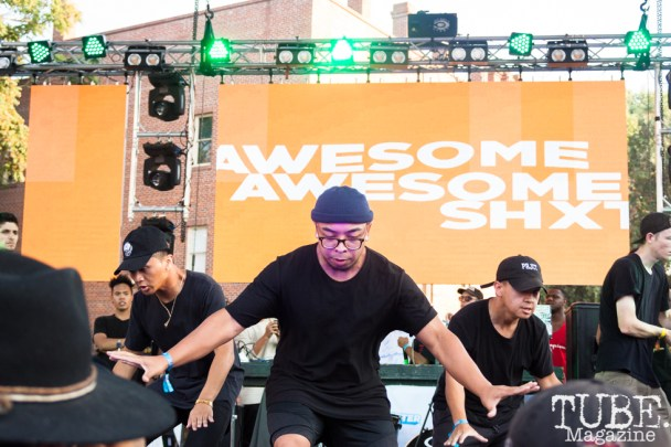Awesome Awesome Shxt performing at HOFDAY in Sacramento, CA (9/16/2017). Photo Cam Evans.