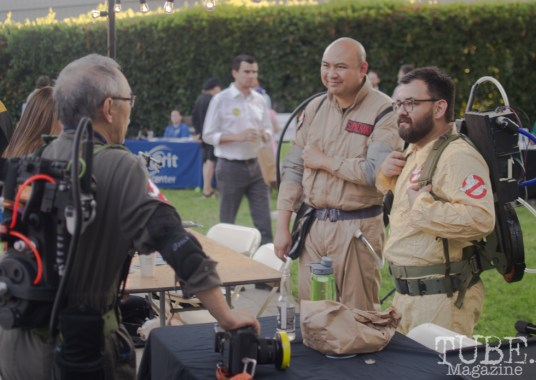 Ghostbusters, Art Mix Crocker-Con, Crocker Art Museum, Sacramento, CA, September 14, 2017, Photo by Dan Tyree