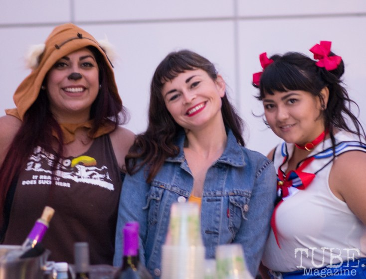 Alexis Wilson's Squad, Art Mix Crocker-Con, Crocker Art Museum, Sacramento, CA, September 14, 2017, Photo by Dan Tyree